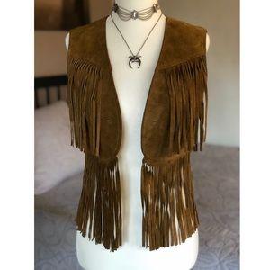 Vintage fringe vest 🐴